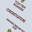 Top Ten Winner Badge by tapiona