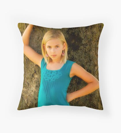 April and 2nd choice any Throw Pillow
