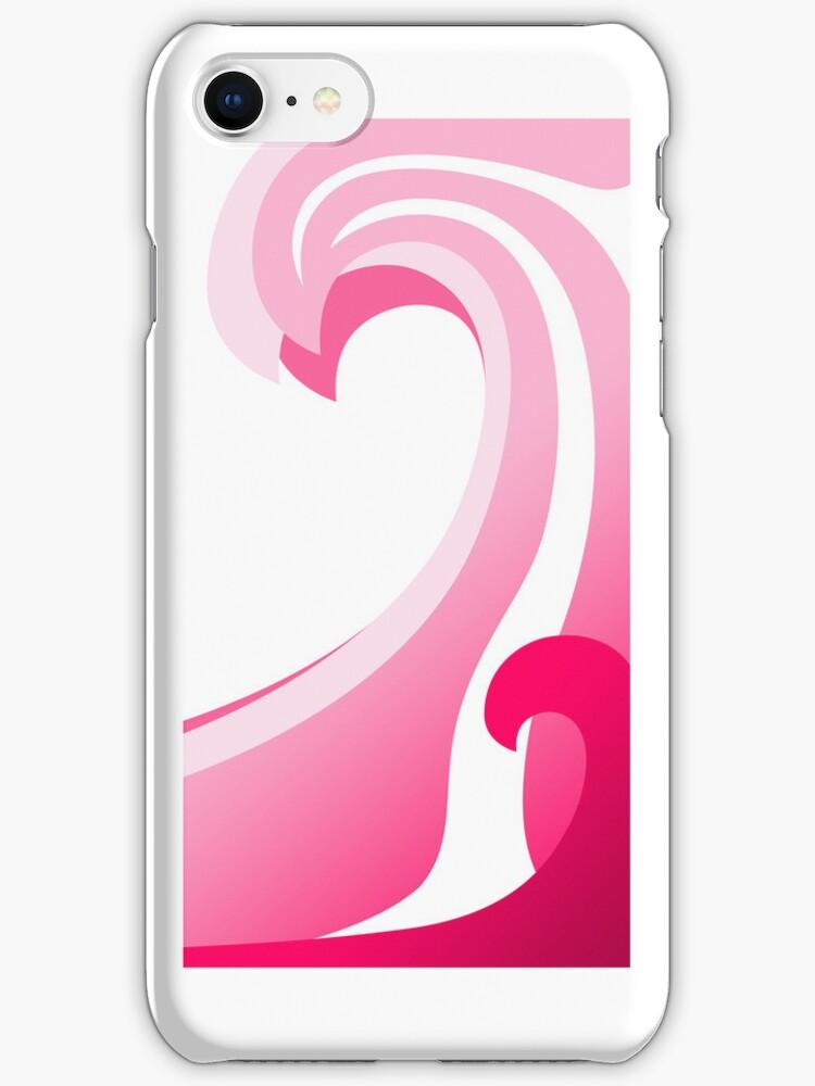 Pink Waves by Mark Lee
