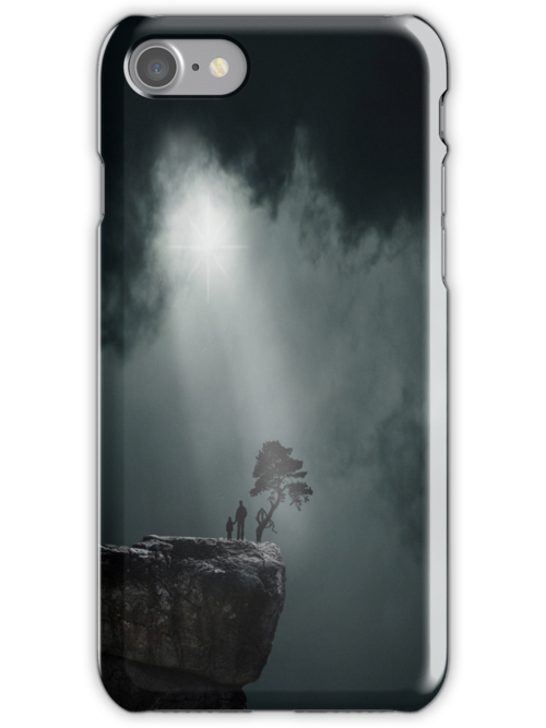 Father & son for iPhone by Nathalie Chaput