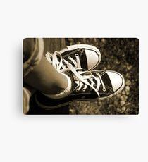 Shoelaces Canvas Print