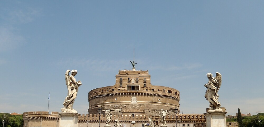 Castel Sant'Angelo - Italy by clarebearhh