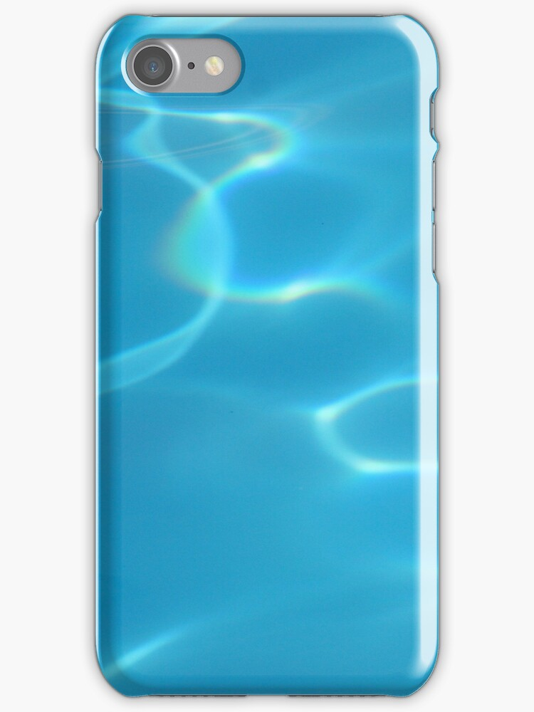 aqua (iphone case) by Louise Green