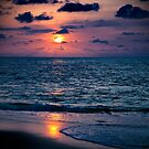 San Pancho Sunset by Lynnette Peizer