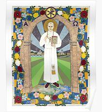 Icon of Pope Saint John Paul II Poster