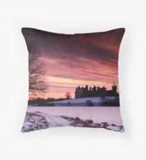 Linlithgow Loch Throw Pillow