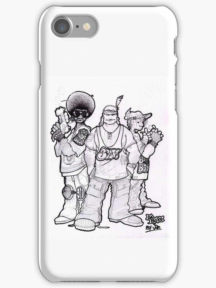 iPhone Case - Da Boys by Jan Szymczuk