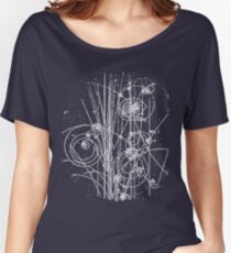 Particles Women's Relaxed Fit T-Shirt