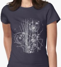 Particles Women's Fitted T-Shirt