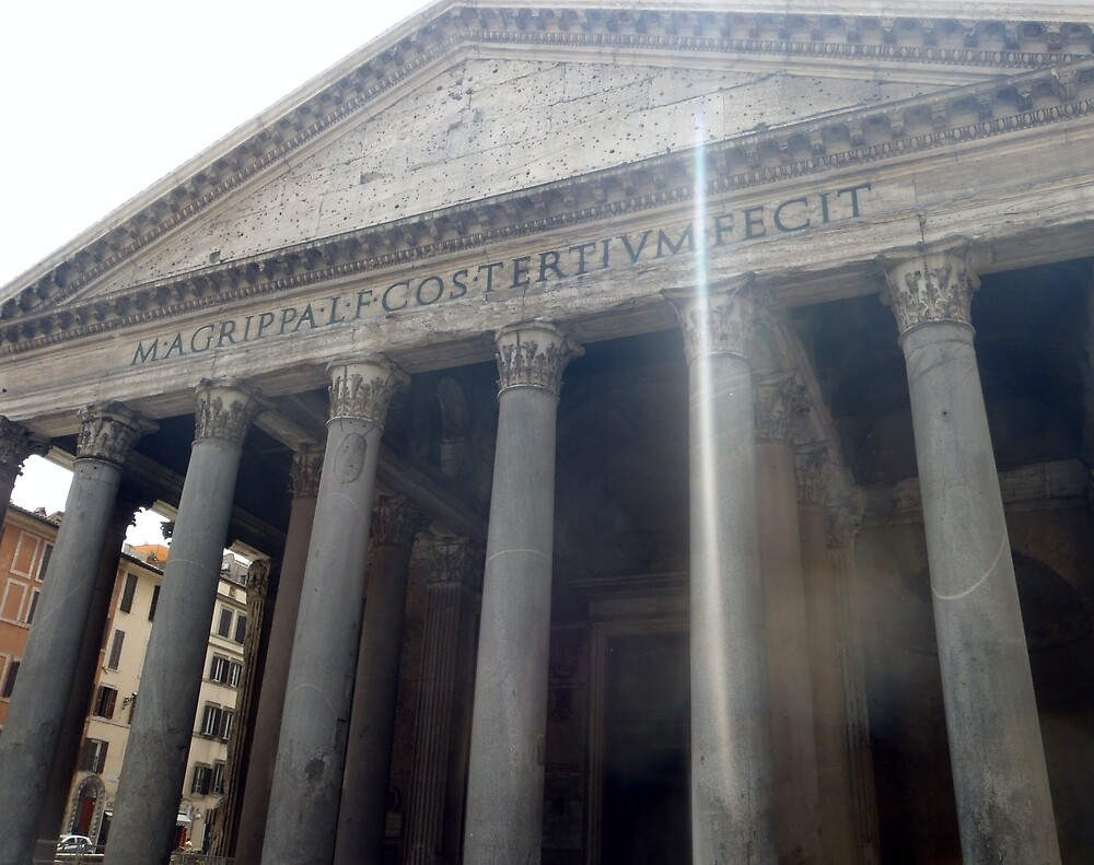 The Pantheon - Italy by clarebearhh