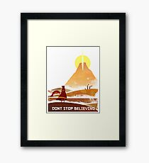 Journey On and On Framed Print