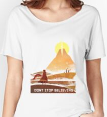 Journey On and On Women's Relaxed Fit T-Shirt