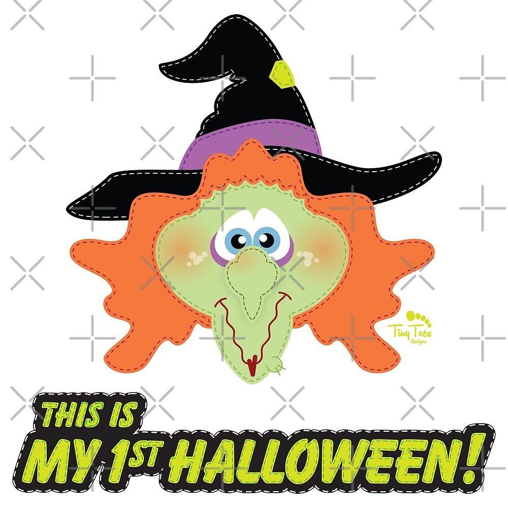My 1st Halloween Evil Witch by BadCatDesigns