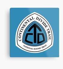 Continental Divide Trail Sign, USA Metal Print