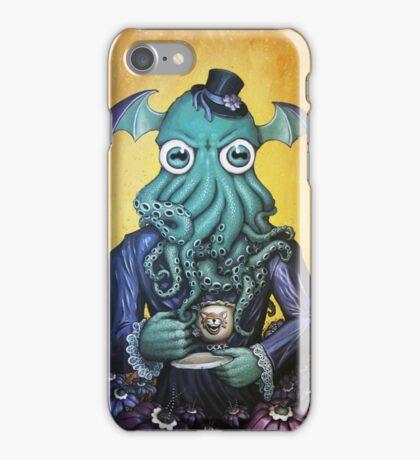 ChaiThulhu (Reign in Purple) by Myke Amend iPhone Case/Skin