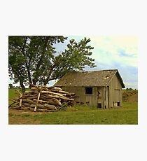 Wood...Shed Photographic Print