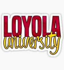 Loyola University New Orleans Sticker