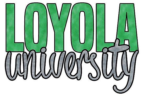 Loyola University Maryland by Kt Farello Designs