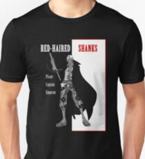 Red-Haired Shanks (scarface parody) T-Shirt