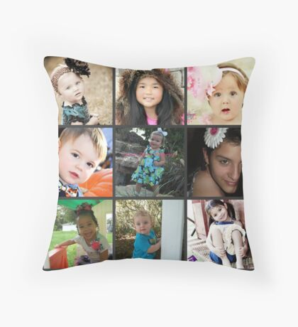 cover3 Throw Pillow