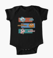 The Cat, The Goldfish and the Bunny One Piece - Short Sleeve