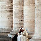 Nuns Deep in Conversation by PhotoLouis
