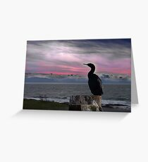 The Fisherman Rests Greeting Card