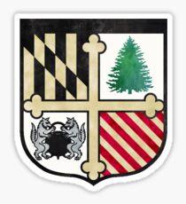 Loyola Maryland Tie Dye Logo Sticker