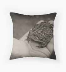 No Warts Throw Pillow