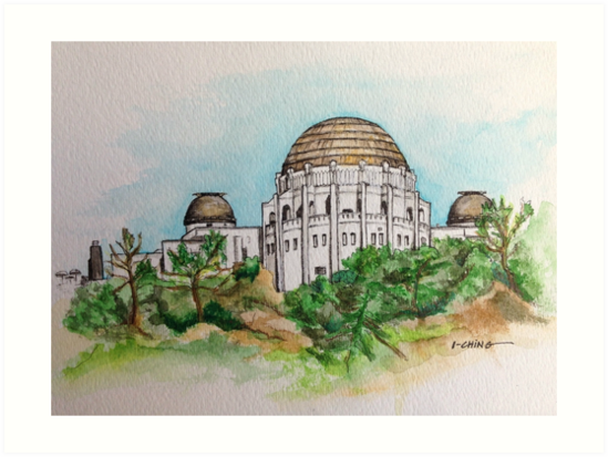 Griffith Observatory by houseofsnarf