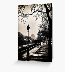 ...puddles of light... Greeting Card