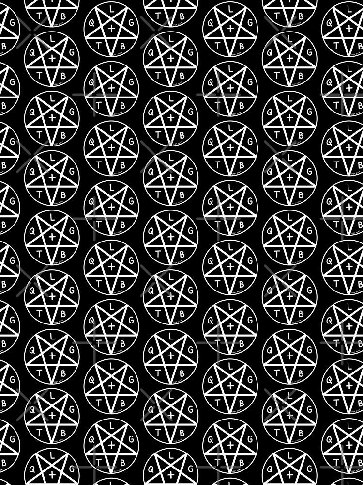 LGBTQ+ Pentagram by joeypokes