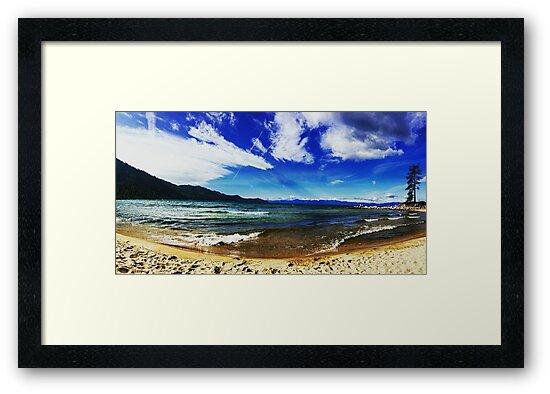 Lake Tahoe Beach by Ian Knight
