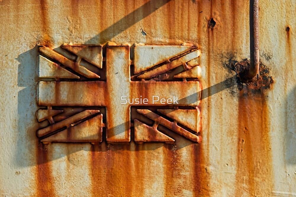 Rusted Union Jack by Susie Peek