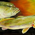 Triple Trout by Phyllis Beiser