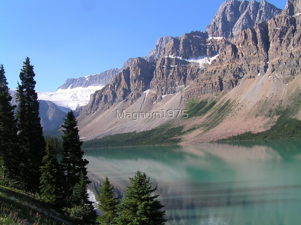 Bow Lake, Alberta Banff/ Jasper Parkway by Magnum1975