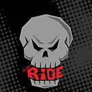Gray Skull: Just Ride by creativeburn