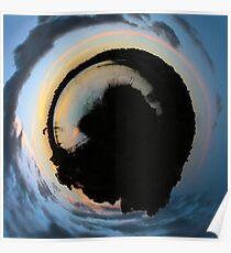Sunstation B3 [Sunset] Poster