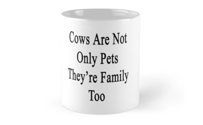 Cows Are Not Only Pets They're Family Too  by supernova23