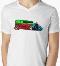 Hot Rod Men's V-Neck T-Shirt