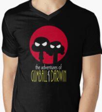 The Adventures of Gumball & Darwin Men's V-Neck T-Shirt