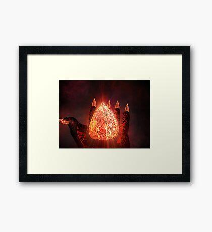 Magical Pod Framed Print