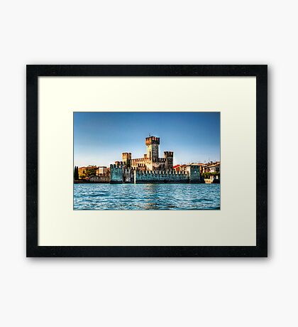 Sirmione Castle Framed Print