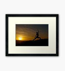 Sun Warrior Framed Print