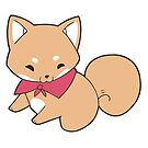 Shiba Inu Dog Sticker by devilsbakery