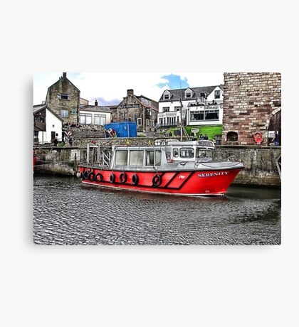 Serenity at Seahouses,Northumberland Canvas Print