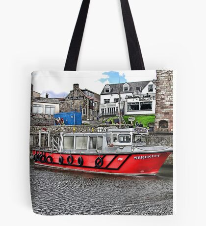 Serenity at Seahouses,Northumberland Tote Bag