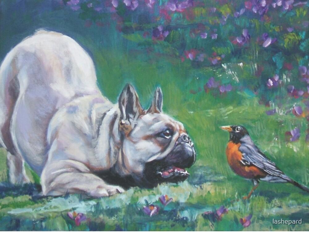 French Bulldog Fine Art Painting by lashepard