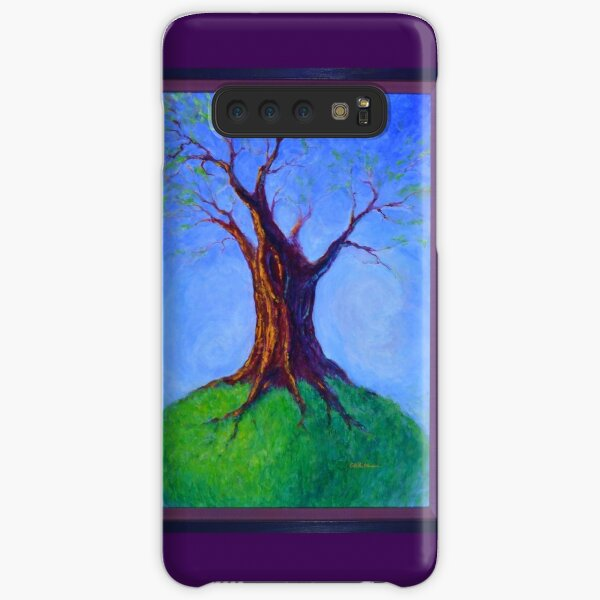 Seasoned Optimism tree on hill Samsung Galaxy Snap Case