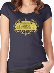 Sparrow & Nightingale  Women's Fitted Scoop T-Shirt